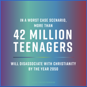 What Can We Do as a Youth Ministry to Combat 42 million teens from walking away?